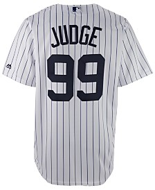 Majestic Men's Aaron Judge New York Yankees Player Replica CB Jersey