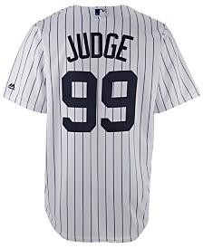 Majestic Men's Aaron Judge New York Yankees Player Replica CB Jersey