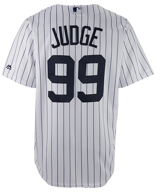 Majestic Men s Aaron Judge New York Yankees Player Replica CB Jersey ... a50b137558d
