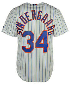 Majestic  Noah Syndergaard New York Mets Player Replica CB Jersey, Big Boys (8-20)