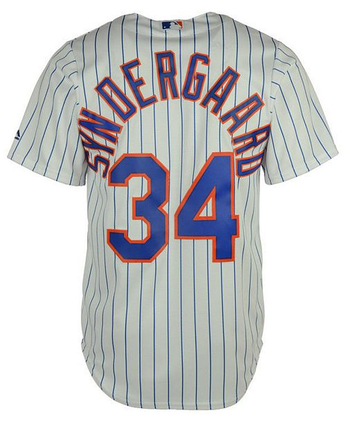 reputable site e4fa4 16423 Noah Syndergaard New York Mets Player Replica CB Jersey, Big Boys (8-20)