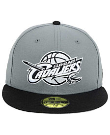 New Era Cleveland Cavaliers 2-Tone Gray Black 59FIFTY Cap