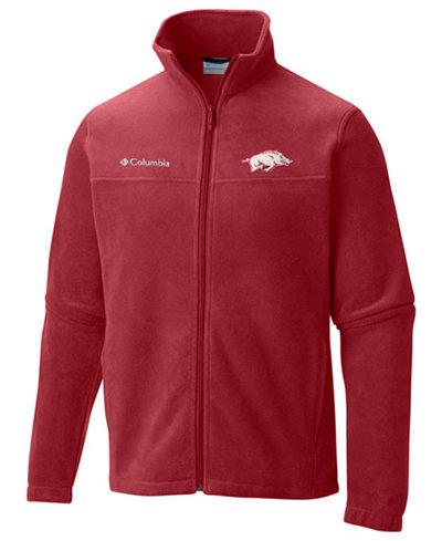 Columbia Men's Arkansas Razorbacks Flanker Full-Zip Jacket