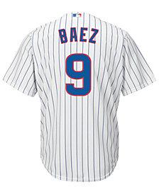 Majestic  Javier Baez Chicago Cubs Player Replica CB Jersey, Big Boys (8-20)
