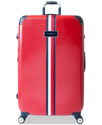 "Basketweave Hardside 28"" Spinner Suitcase"