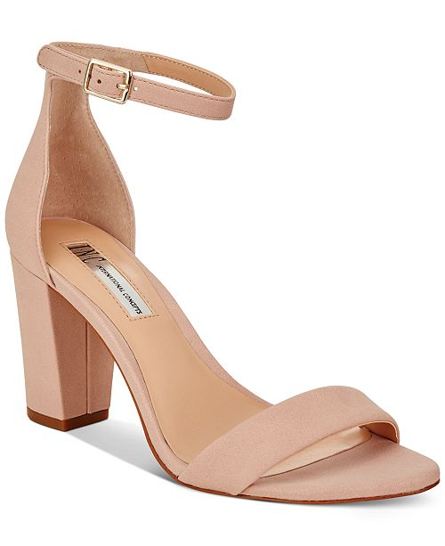 INC International Concepts INC Kivah Two-Piece Sandals, Created for Macy's