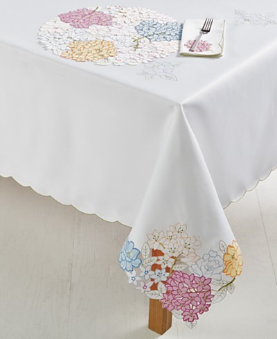 Homewear Romi Cutout Table Linens Collection
