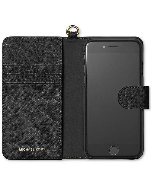 3c79ee2cc6bf Michael Kors iPhone 7 Tab Folio Case & Reviews - Handbags ...