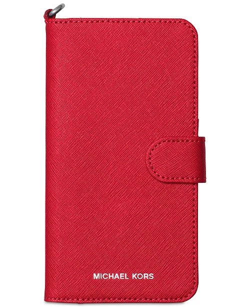 cheap for discount 4f377 2ba36 Michael Kors iPhone 7 Plus Tab Folio Case & Reviews - Handbags ...