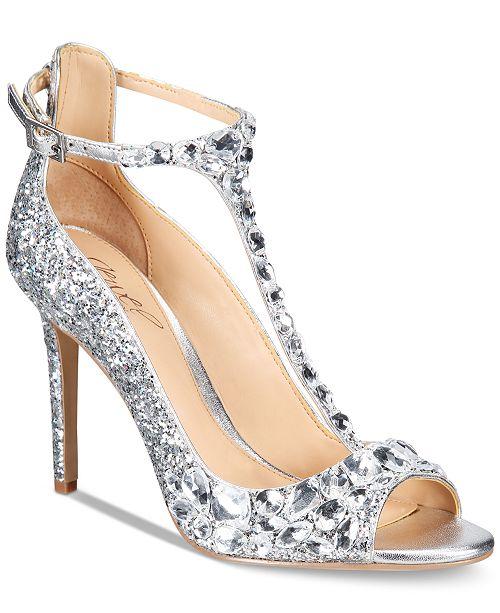 8c4c28dd2fb Jewel Badgley Mischka Conroy T-Strap Evening Sandals   Reviews ...