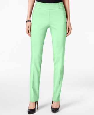 Image of JM Collection Petite Studded Pull-On Pants, Only at Macy's