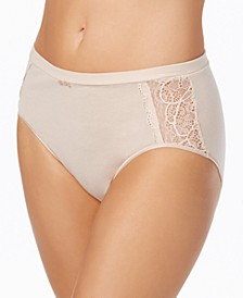 Cotton Desire Lace Hi Cut Brief Underwear DFCD62