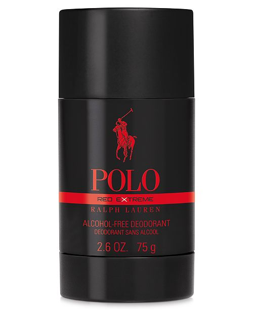 Ralph Lauren Men s Polo Red Extreme Deodorant, 2.6 oz - All Cologne ... 5f813d71d661
