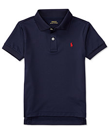 Ralph Lauren Moisture-wicking Tech Jersey Polo Shirt, Big Boys