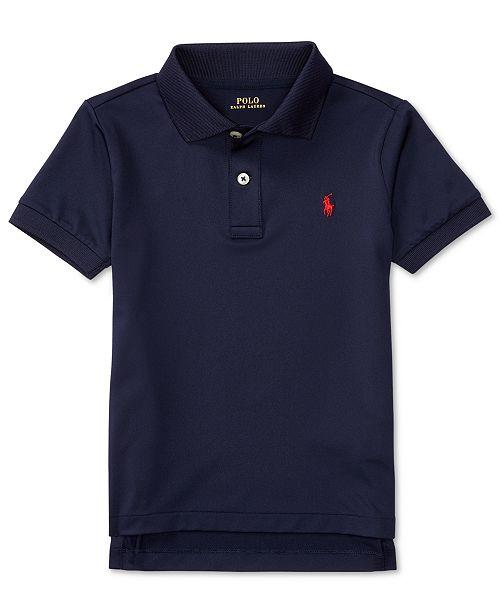 Polo Ralph Lauren Little Boys Stretch Jersey Polo Shirt - Shirts ... 0ff137c41f1d