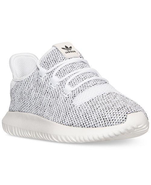 cfc15f32afe ... adidas Little Girls  Tubular Shadow Knit Casual Sneakers from Finish ...