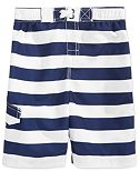 Kanu Surf Troy Striped Swim Trunks, Toddler, Little (2T-7), & Big Boys (8-20)