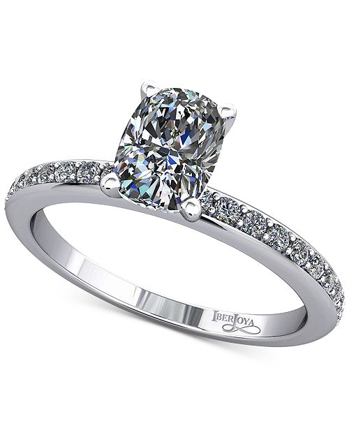 Macy's Diamond Mount Setting (1/5 ct. t.w.) in 14K White Gold
