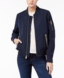 Levi's® Zip-Detail Bomber Jacket