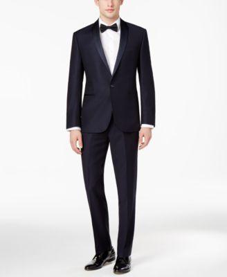 Men's  Navy Modern-Fit Tuxedo Jacket, Created for Macy's