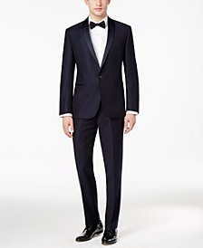 Ryan Seacrest Distinction™ Men's Navy Modern-Fit Tuxedo Separates, Created for Macy's