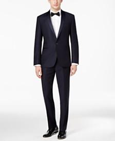 Ryan Seacrest Distinction™ Men's Navy Modern-Fit Tuxedo Separates, Created for Macy's