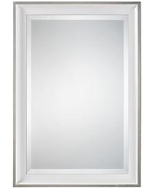 Lahvahn White Silver Mirror