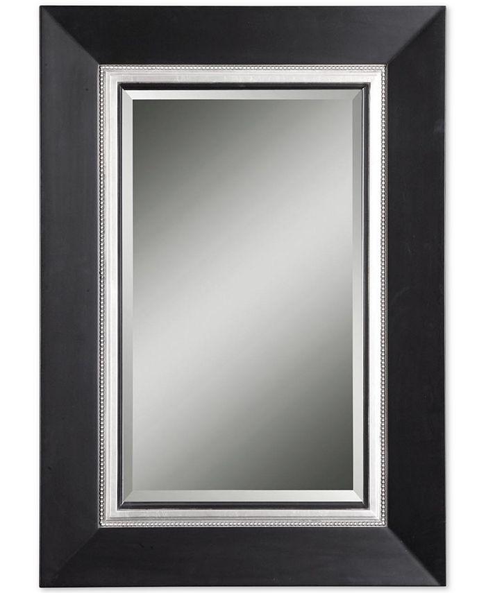 Uttermost - Whitmore Black Vanity Mirror