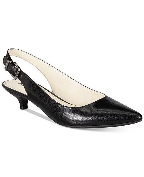 65c76c3a69 Anne Klein Expert Kitten Heel Pumps & Reviews - Pumps - Shoes ...
