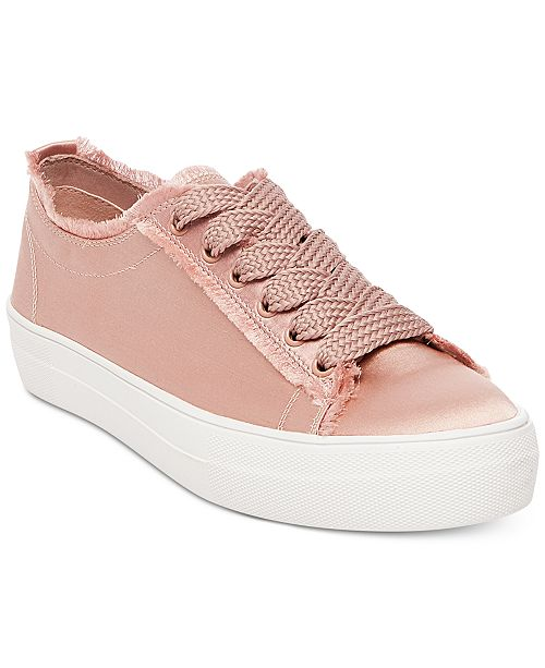 ae38b41bc40b Steve Madden Greyla Lace-Up Sneakers   Reviews - Sneakers - Shoes ...
