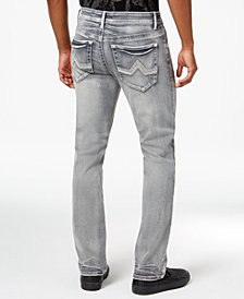 I.N.C. Stretch Slim Straight Jeans, Created for Macy's
