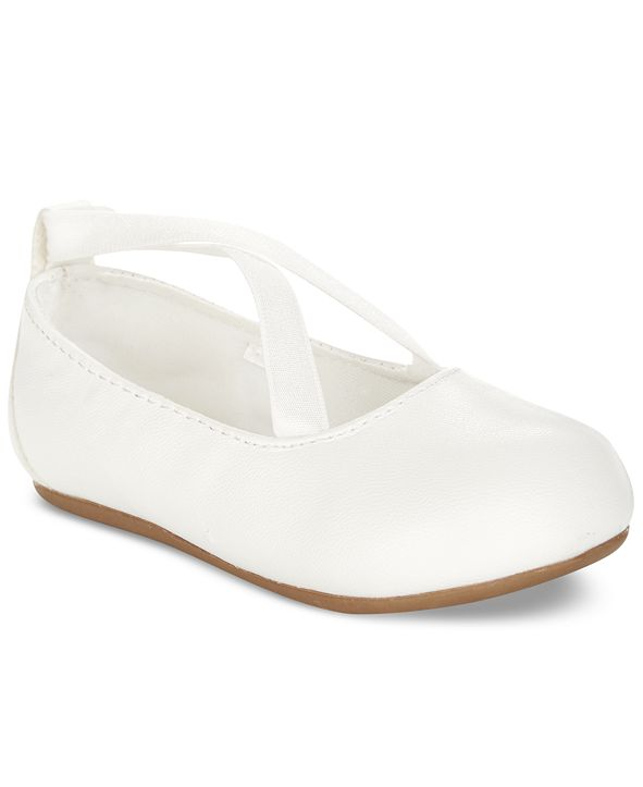 First Impressions Baby Girls Criss-Cross Ballet Flats, Created for Macy's