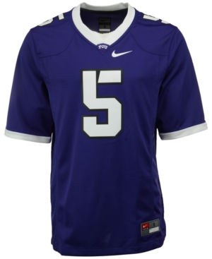Nike Men's Texas Christian Horned Frogs Replica Football Game Jersey