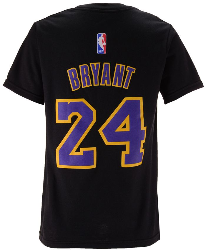 adidas Kobe Bryant Los Angeles Lakers Name And Number T-Shirt, Big ...