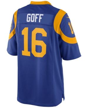 Nike Jared Goff Los Angeles Rams Game Jersey, Big Boys (8-20)