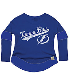 Retro Brand Women's Tampa Bay Lightning Faceoff Thermal Long Sleeve T-Shirt