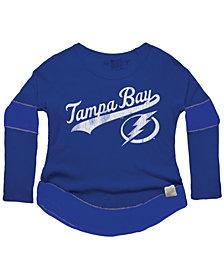 Retro Brand Women's Tampa Bay Lightning Faceoff Thermal Long Sleeve T-Shirt