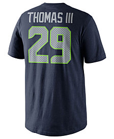 Nike Earl Thomas III Seattle Seahawks Pride Name and Number T-Shirt, Big Boys