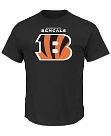 Profile Men's Cincinnati Bengals Critical Victory Performance Big & Tall T-Shirt