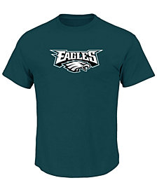 Profile Men's Philadelphia Eagles Basic Logo Performance Big & Tall T-Shirt