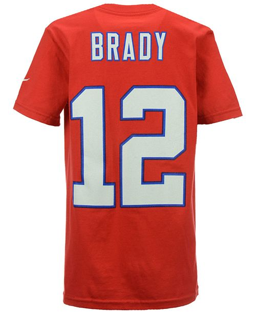 bf8e7c8f7148c6 Nike Tom Brady New England Patriots Pride Name and Number T-Shirt ...