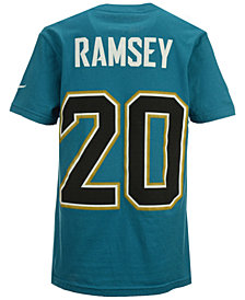 Nike Jalen Ramsey Jacksonville Jaguars Pride Name and Number T-Shirt, Big Boys (8-20)