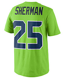 Nike Richard Sherman Seattle Seahawks Pride Name and Number T-Shirt, Big Boys (8-20)