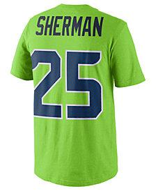 Nike Richard Sherman Seattle Seahawks Pride Name and Number T-Shirt, Big Boys (8-20)