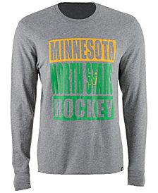 '47 Brand Men's Minnesota North Stars Stacked Club Long Sleeve T-Shirt