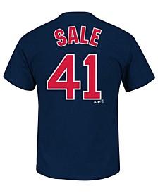Men's Chris Sale Boston Red Sox Official Player T-Shirt