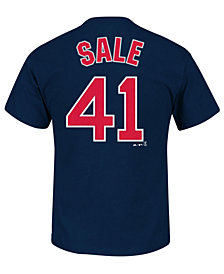 Majestic Men's Chris Sale Boston Red Sox Official Player T-Shirt