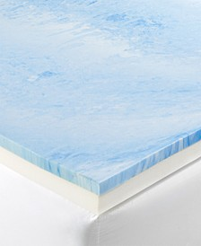 "CLOSEOUT! 4"" Gel-Infused Memory Foam Full Mattress Topper"