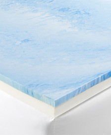 "CLOSEOUT! Dusk & Dawn 4"" Gel-Infused Memory Foam Mattress Toppers"