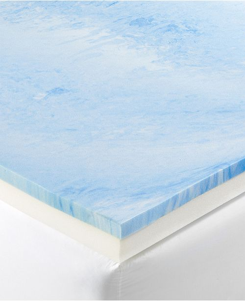 "Dusk & Dawn  4"" Gel-Infused Memory Foam Full Mattress Topper"
